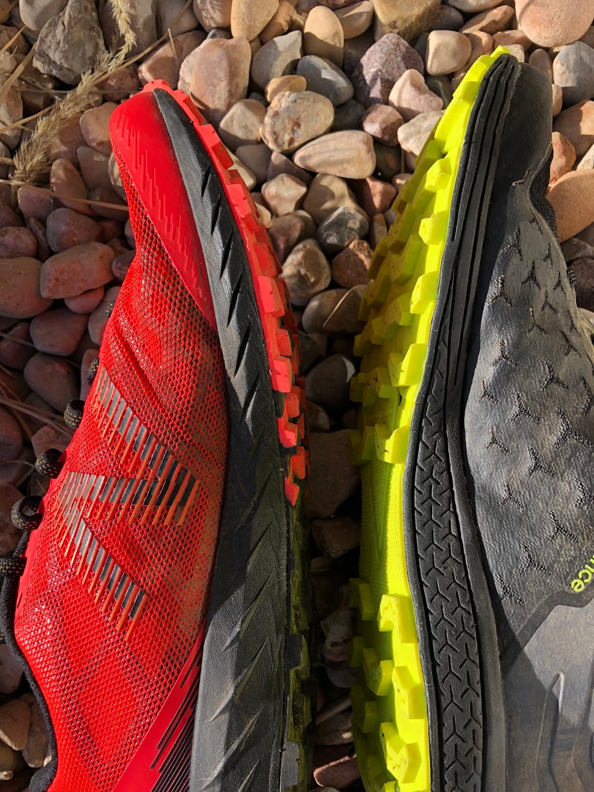 b7987c2a0070e The midsole geometry appears to fill in the mid foot area with more of a  bowing out than the Summit Trail s more abrupt vertical side walls.