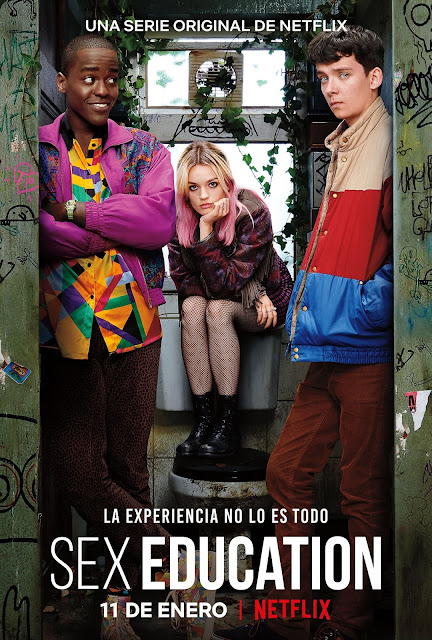 Póster, Sex Education, Netflix