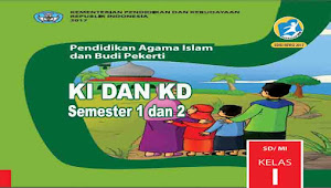 KI dan KD PAI dan BP Kelas 1 SD Kurikulum 2013 Revisi 2017