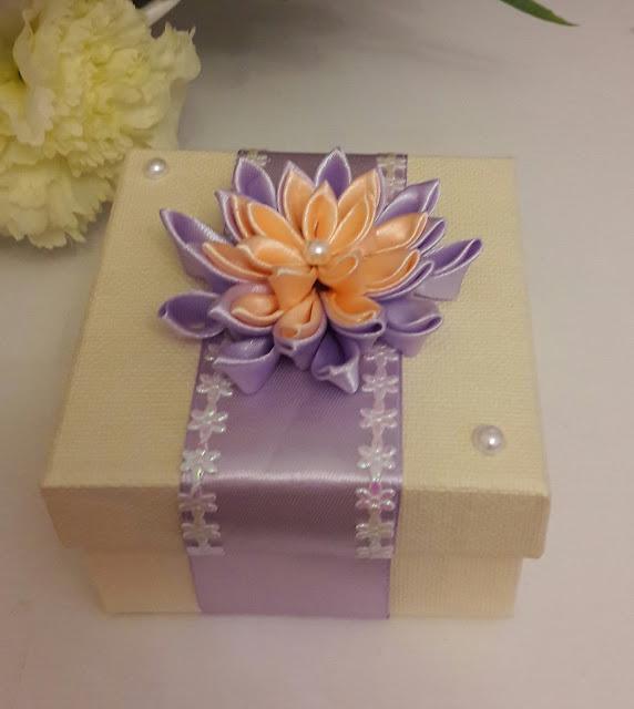 Ozdobne pudełko na prezenty.