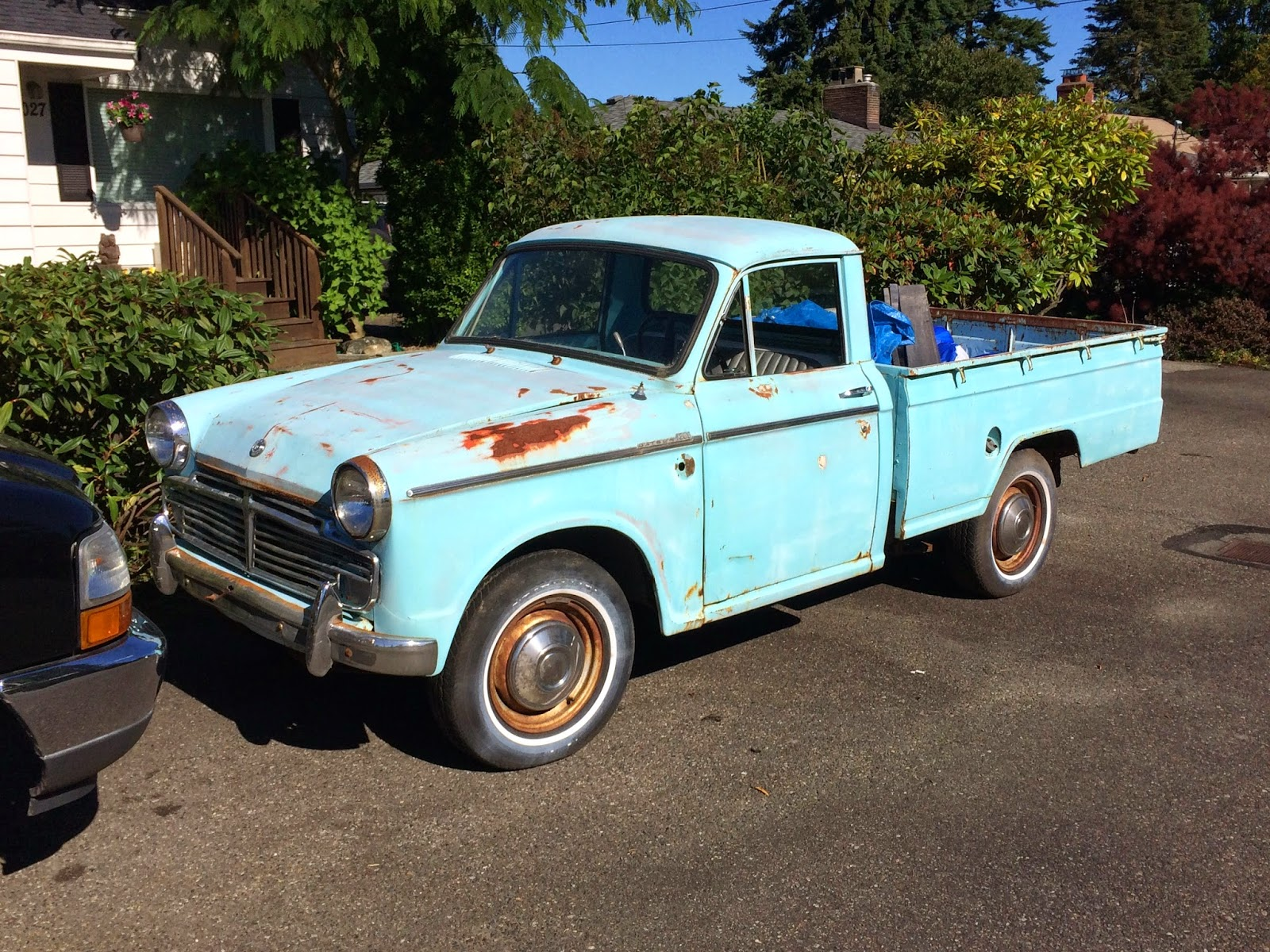 Seattle U0026 39 S Classics  1965 Datsun 1200 Pickup