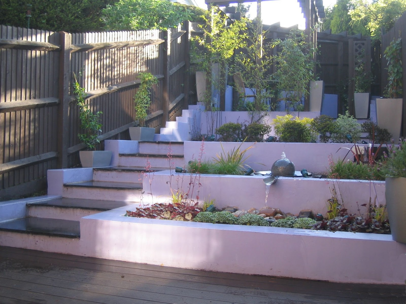 A Life Designing: Sloping Garden Design Challenges on Downward Sloping Garden Ideas id=76139