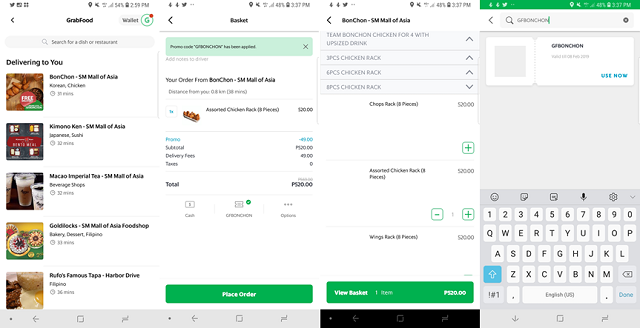 My GrabFood Experience Philippines