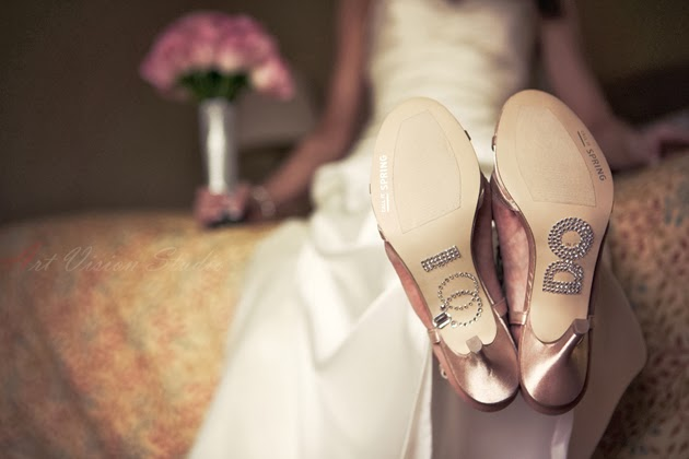 Fotografías ideas zapatos de novia. Cute wedding shoes