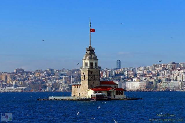 Kız Kulesi, Üsküdar, Bosphorus, Turkey