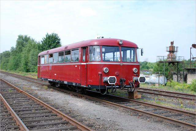 """""""Revier-Sprinter"""" am Bahnbetriebswerk Gelsenkirchen-Bismarck"""