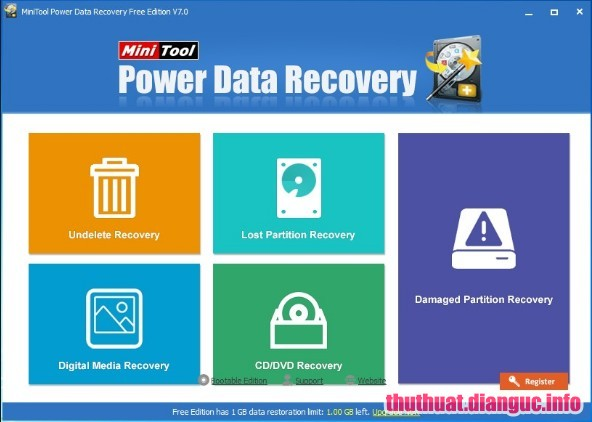Download MiniTool Power Data Recovery 8.1 Full Cr@ck