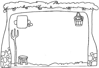 Establo De Belén Para Colorear Dibujos Infantiles