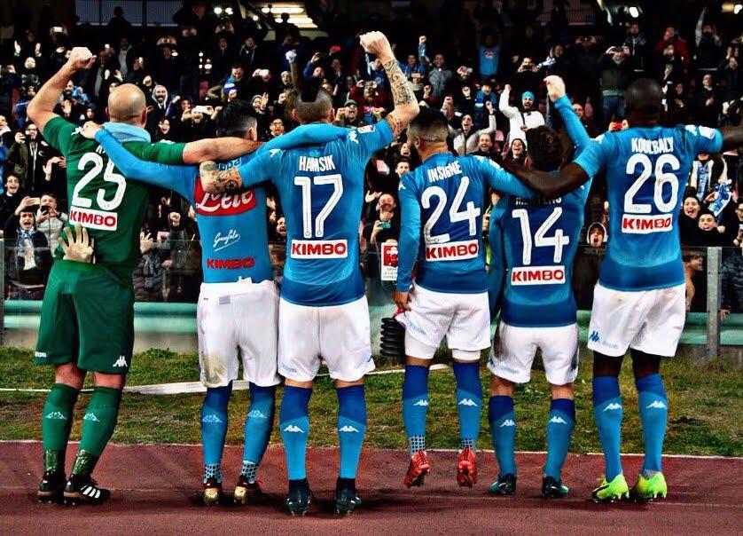 Calcio Serie A: A Napoli è uscita la quaterna, 4 sberle alla Lazio con un 2° tempo da paura