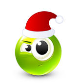 Christmas Smiley Icon 18