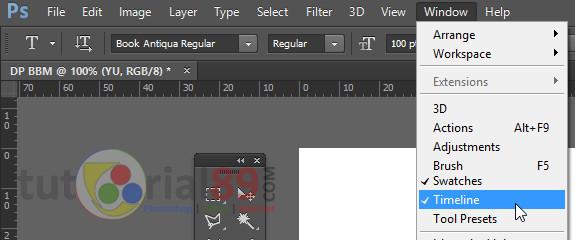 Membuat Dp Bbm Bergerak Photoshop Kelas Desain Belajar Desain