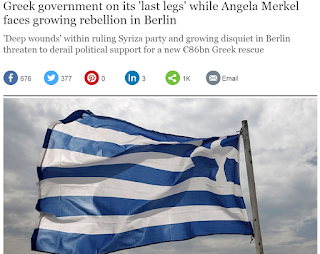 Greece and Germany back in the news