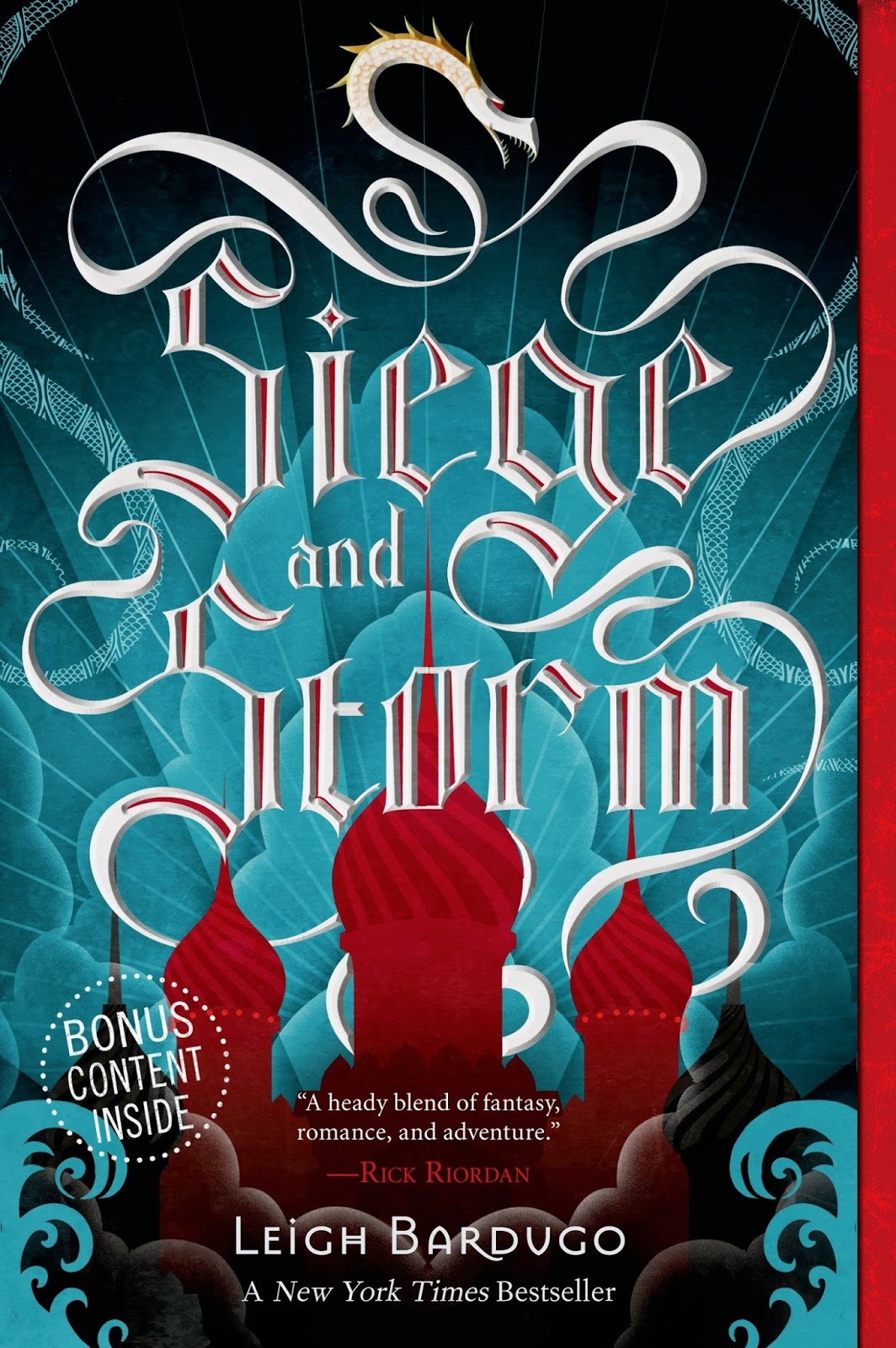 Rese�a: Siege And Storm (the Grisha #2)  Leigh Bardugo