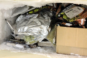 A freezer full of hops, and I've been brewing a lot of hoppy beers...