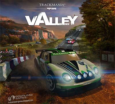 لعبة سباق السيارات Trackmania 2 Valley