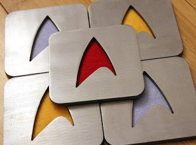 Star Trek Coaster Set