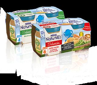 Prueba unos tarritos Nestlé Naturnes