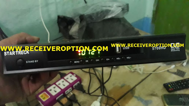 STAR TRECK 5700HD RECEIVER AUTO ROLL NEW SOFTWARE