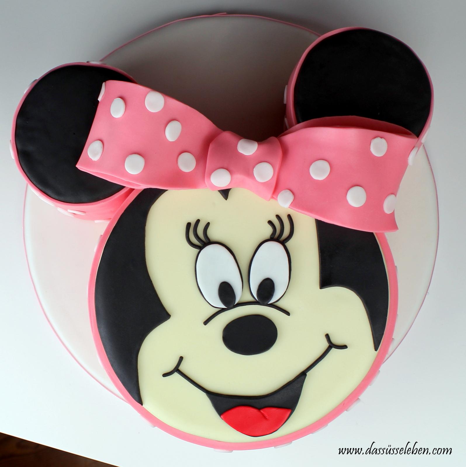 Rezept Minnie Mouse Torte Das Susse Leben