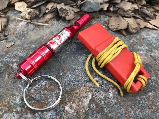 Emergency Backpacking Whistles