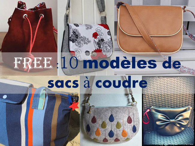 Sehr SAC : 10 Patrons et Tutos couture gratuits Bettinael.Passion  BZ05