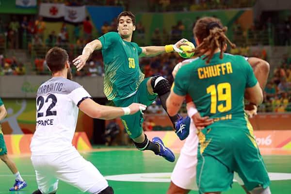 francia - brasil mundial handball