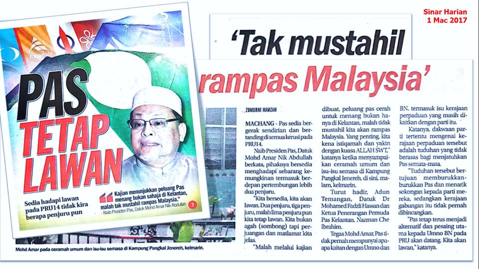 tak mustahil rampas Malaysia - Nik Amar