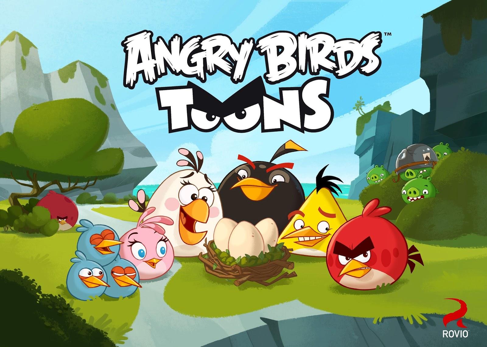 Angrybirds Francescanatale 05: La Web Angry Birds: Angry Birds Toons