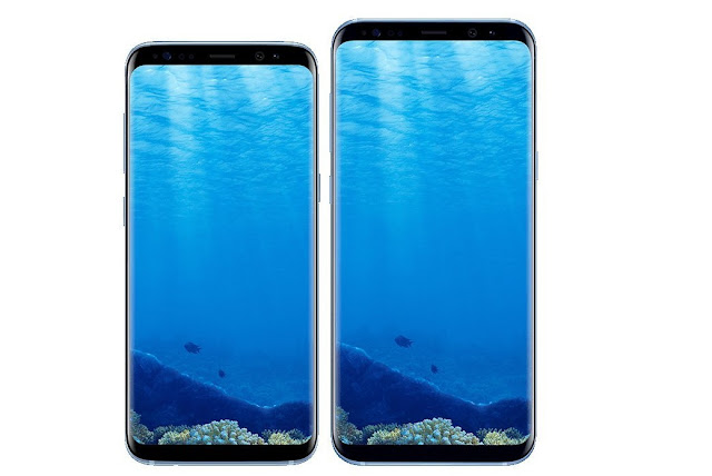 Blue Samsung Galaxy S8 Showcased in Leaked Press Renders