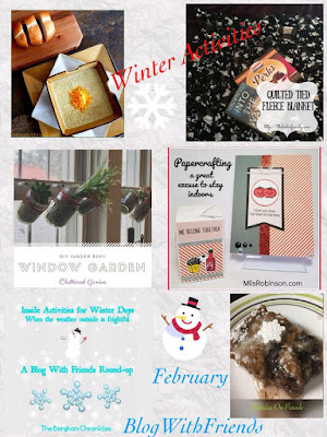 Blog With Friends, a multi-blogger project based post incorporating a theme, Winter Activities | Featured on www.BakingInATornado.com