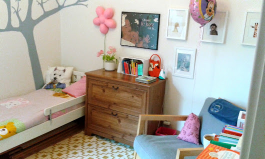 Anouk's 3 years old bedroom.