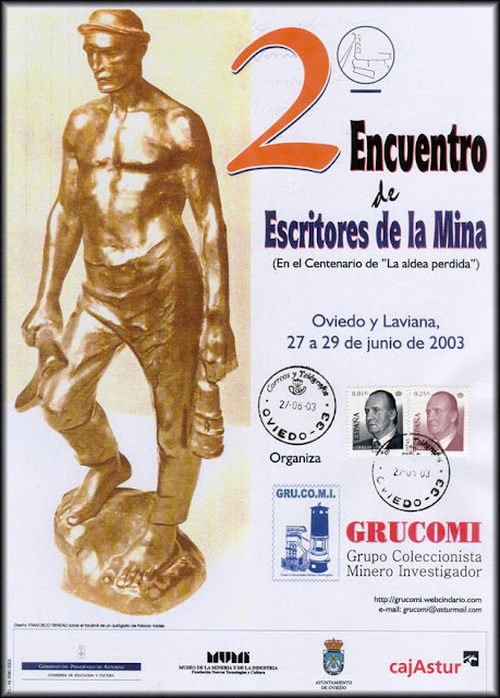 Cartel del 2º Encuentro de Escritores de la Mina