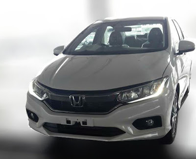 2017 Honda City facelift spid picture