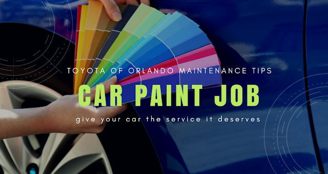 Orlando car paint job