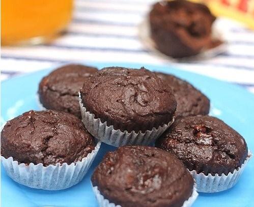 Bagaimana Cara Membuat Kue Muffin Toblerone Lembut