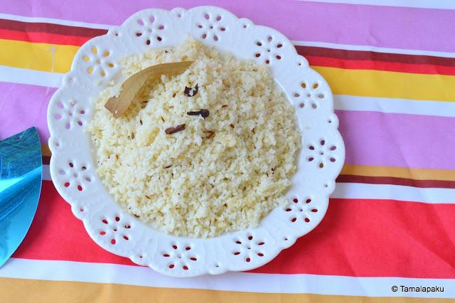 Varai Bhat / Little Millet Bhat