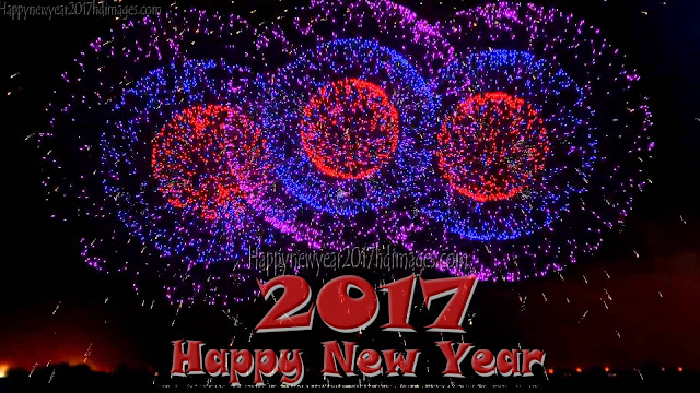 Happy New Year 2017 4K Fireworks Background Download - Happy New Year 2017 Fireworks Ultra HD Photos Pictures Download Free