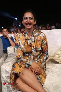 Actress Rakul Preet Singh Stills in Short Dress at Dhruva Pre Release Function  0092.JPG