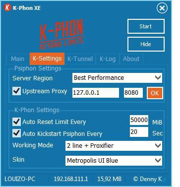 k-phon config 2