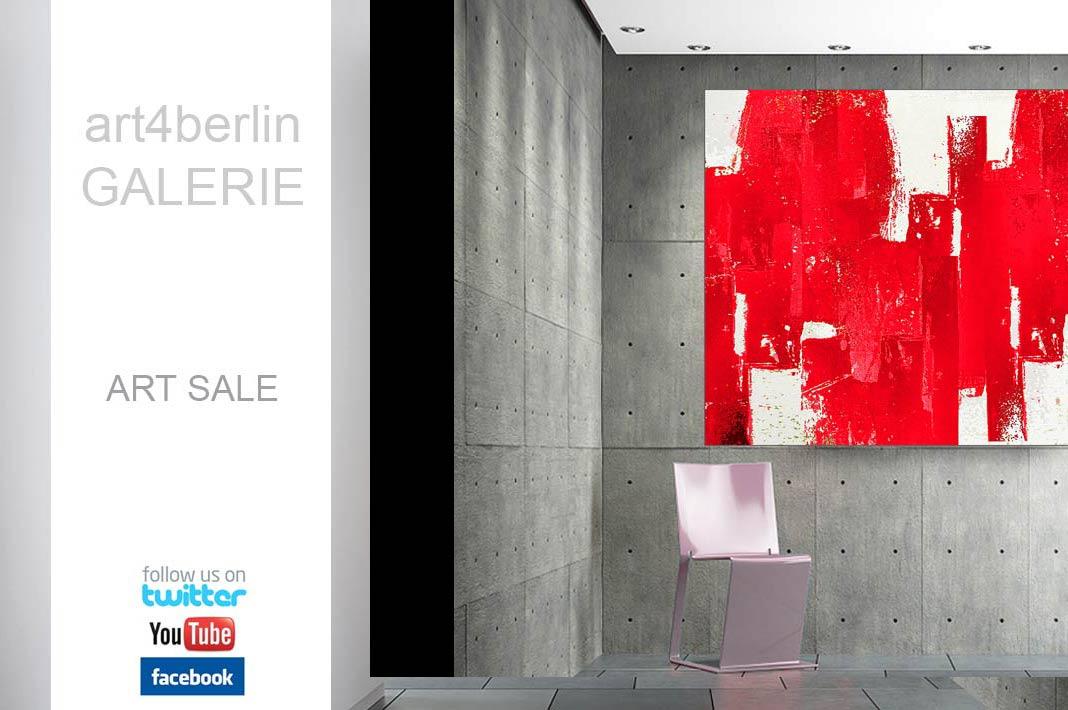 Art sale moderne kunst abstrakte lgem lde gro e for Moderne bilder auf keilrahmen