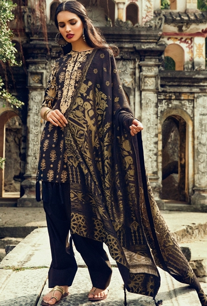 Zara Shahjahan Lawn 2017-2018 Collection by Ittehad Textile