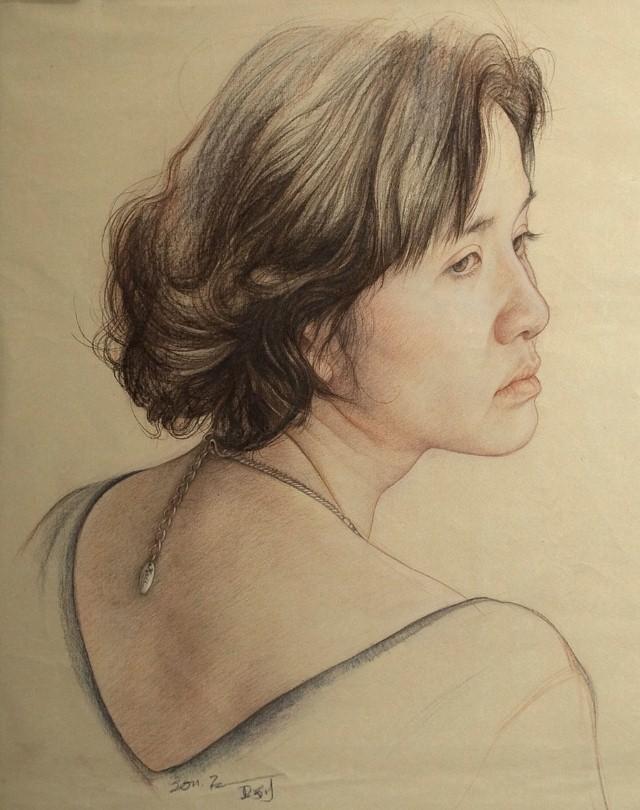 Карандашные портреты. William Wu 2