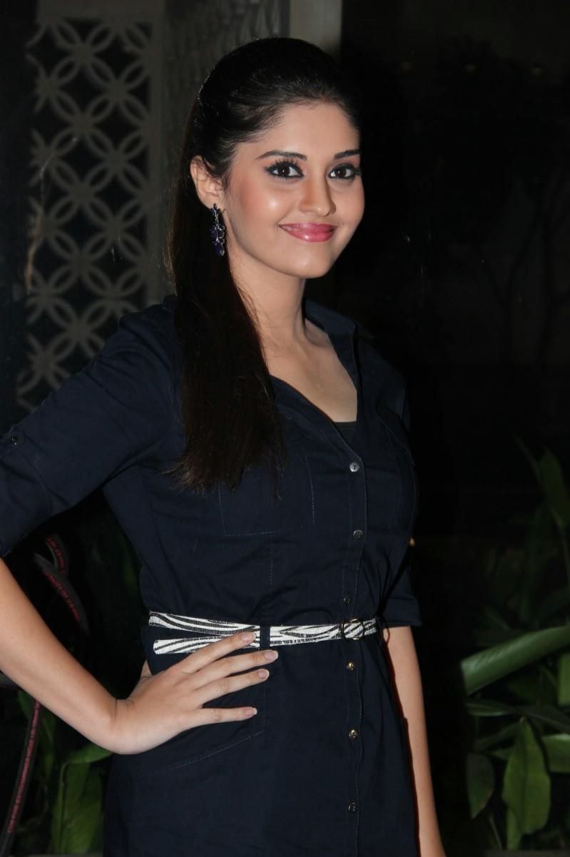 Surabhi Hot Smiling Face Stills In Blue Top