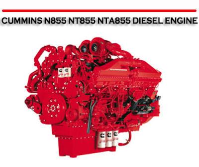 Factory Service Repair Manual: FREE CUMMINS N-855 NT-855 NTA