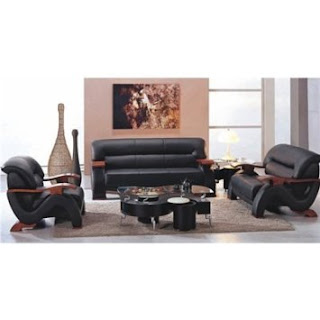 Urban Bonded Leather Sofa Set By TOSH Furniture