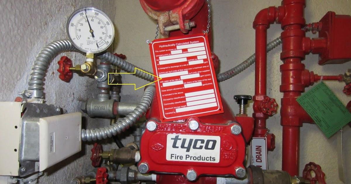 Fire Protection Deficiencies Hydraulic Calculation