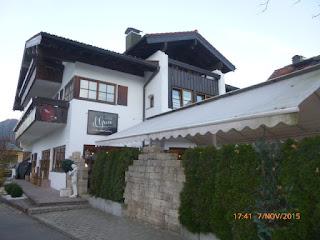 Das Griechische Restaurant el Greco in Oberstdorf in Süddeutschland