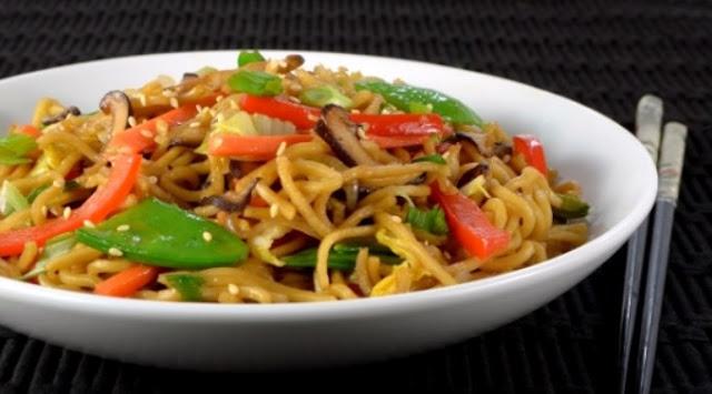 Ramen Noodle Stir Fry #noodle #vegetarian