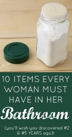 10 INSANELY CLEVER ITEMS EVERY WOMAN MUST HAVE IN HER BATHROOM!