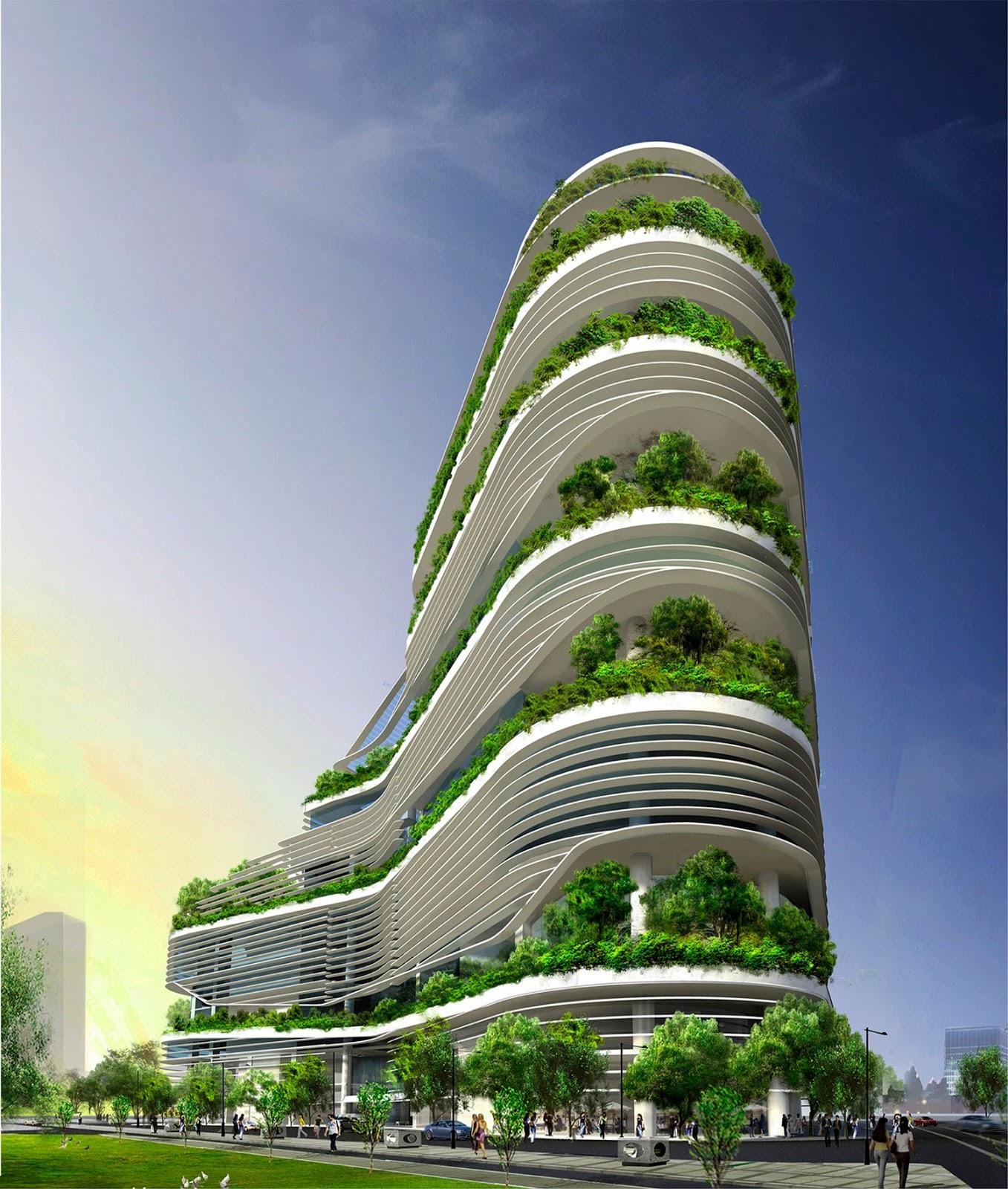Ken yeang debemos repensar nuestras ciudades ecosiglos for Design eco casa verde